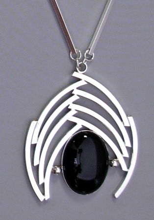Black Onyx Classic Curves Necklace