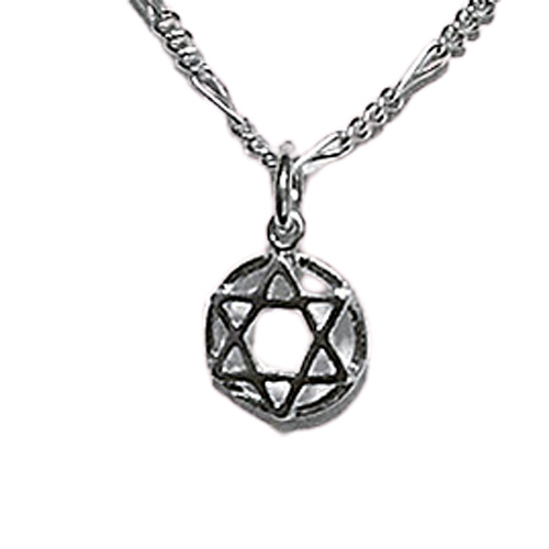 Classic Petite Star of David