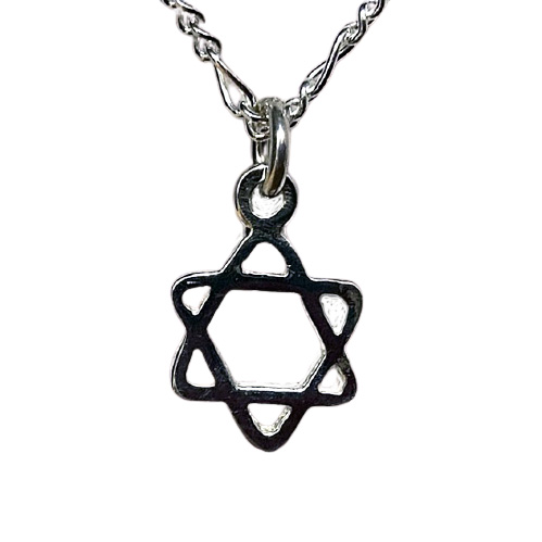 Star of David Necklace (J-32)