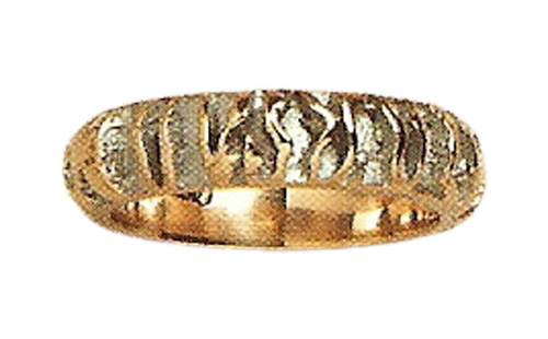 Jay Modernist Gold Ring
