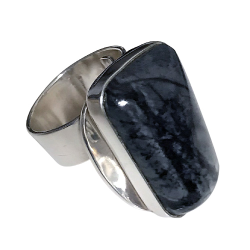 Picasso Marble Modernist Ring (RM-27)