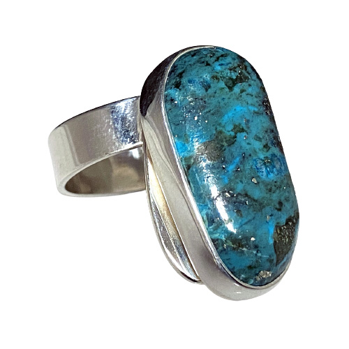 Turquoise Sculptural Ring (RM-6)