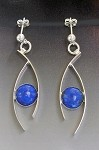 Lapis Dangle Earrings (EP-14)