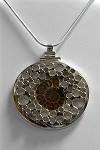 Ammonoid Fossil Bubble Necklace (HA-70)