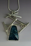 Apatite Linear Necklace