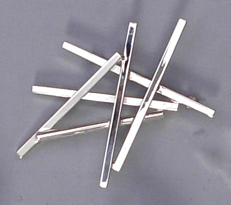Silver Sticks Linear Pin