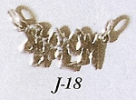 Shalom in English Necklace