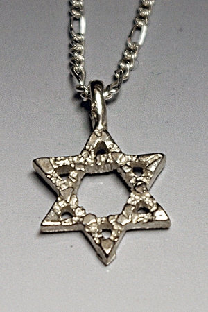 Classic Star of David Necklace - Small