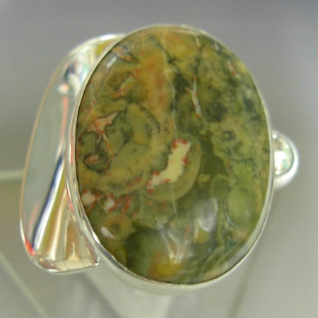 Rhyolite Modernist Ring