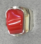 Freeform Coral Modernist Ring