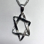 Classic Medium Star of David Necklace