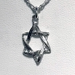 Classic Small Star of David Necklace