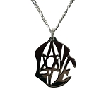Modern Love with Star of David Necklace (J-13)
