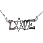 Modern Love with Star of David Necklace