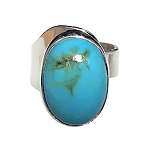 Turquoise Modernist Ring