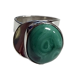 Malachite Sculptural Ring (RM-20)