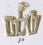 Shalom in Hebrew Necklace