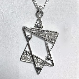Filigree Star of David Necklace - Extra Large