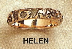 Helen Modernist Gold Ring