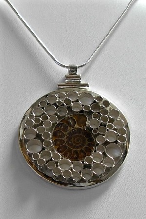 Fossil Bubble Necklace